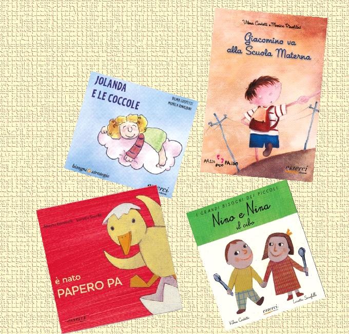Pacchetto 4 libri cnv 0 3 anni centro esserci for Scuola materna francese