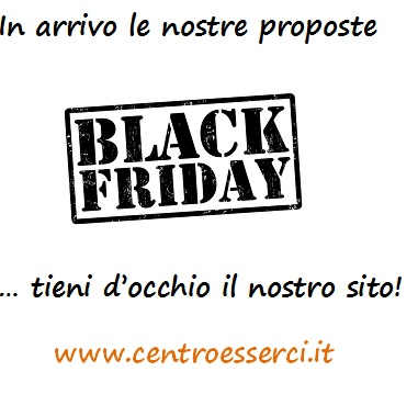 Arriva il Black Friday!