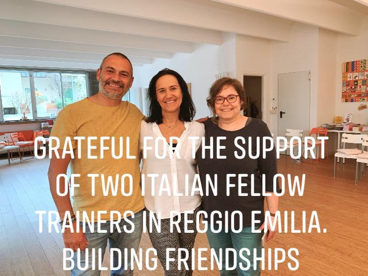 Liv Larsson a Reggio Emilia